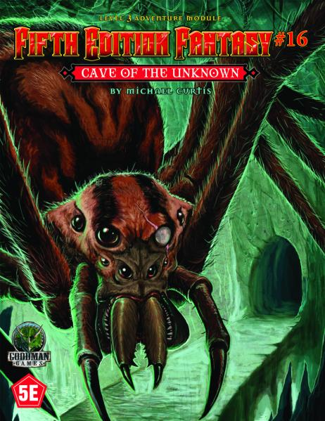 Dungeons & Dragons RPG: (Fifth Edition Fantasy) #16 Cave of the Unknown