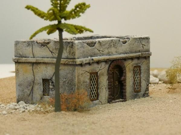 28mm Terrain: Desert House - Beduin