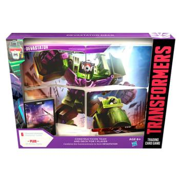 Transformers TCG: Rise of the Combiners - Devastator Deck (1)