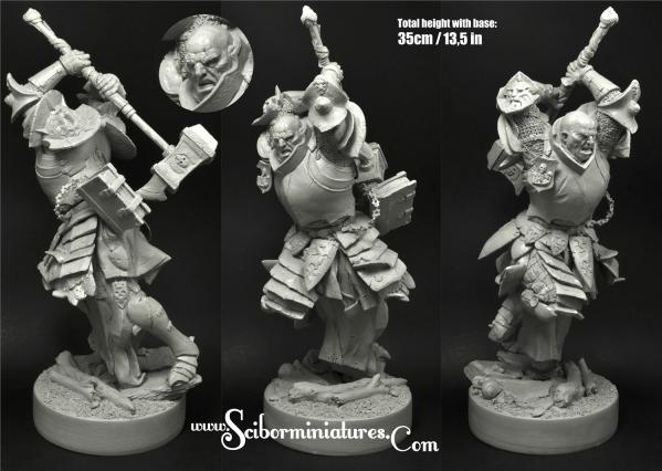 54mm Fantasy Miniatures: Just Knight (1)