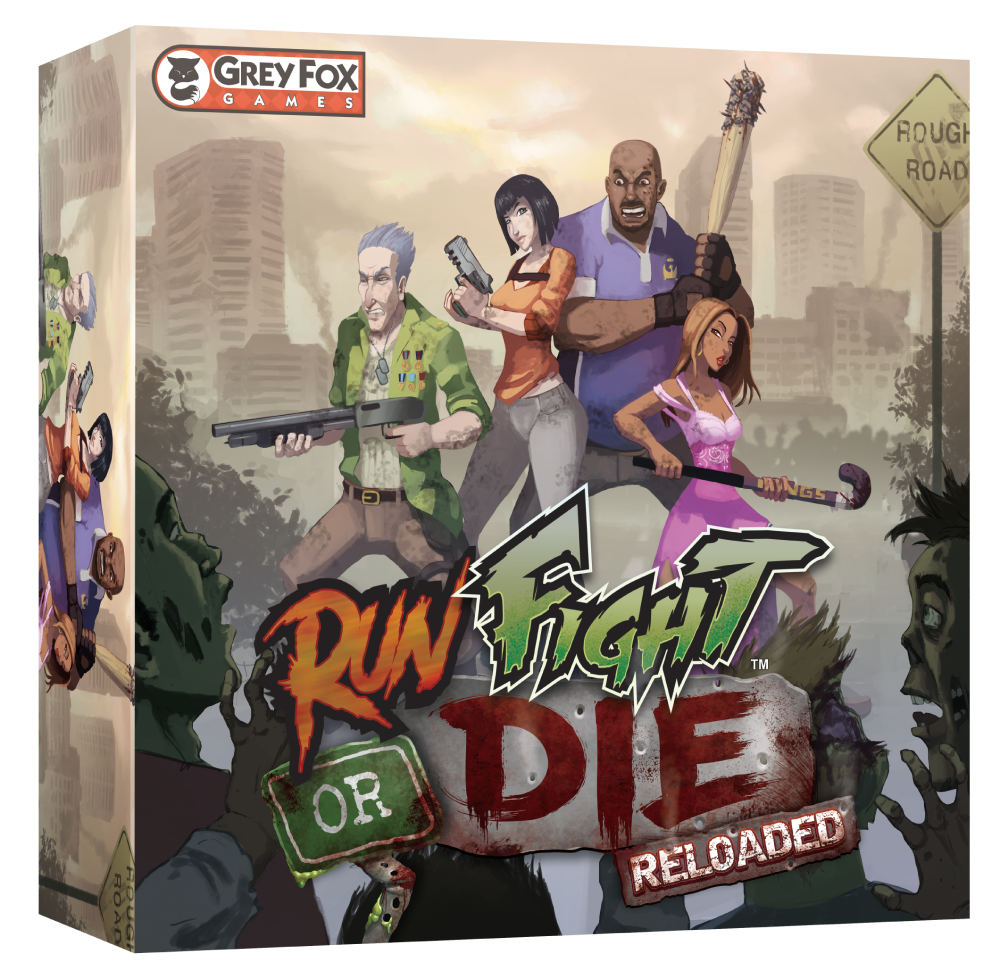 Run Fight or Die Reloaded: Core Game