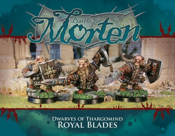 28mm Fantasy: Dwarves of Thargomind - Royal Blades