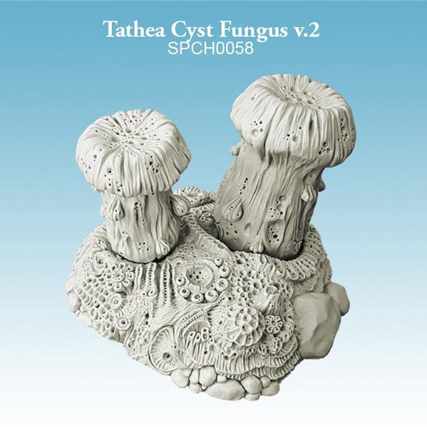 Miniature Terrain: Tathea Cyst Fungus v.2