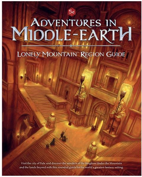 Dungeons & Dragons RPG: Adventures in Middle Earth - Lonely Mountain Region Guide (HC)