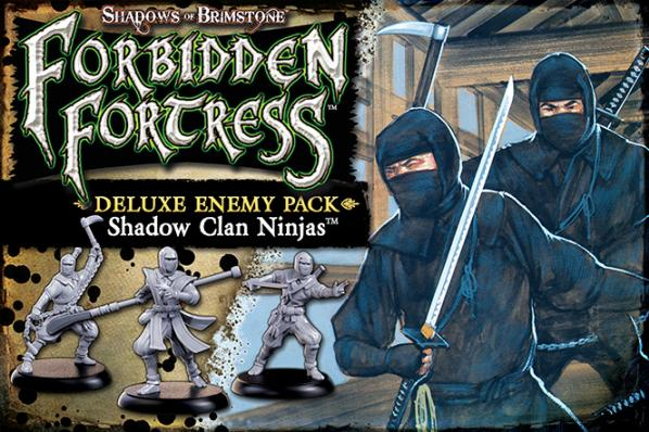 Shadows Of Brimstone: Shadow Clan Ninja Deluxe Enemy Pack