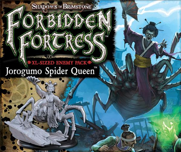 Shadows Of Brimstone: Jorogumo Spider Queen XL Enemy Pack
