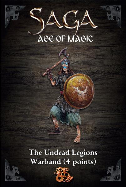 SAGA: Age of Magic - Undead Legion Starter Warband (4 Points)