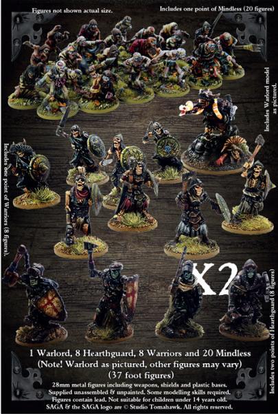 SAGA: Age of Magic - Undead Legion Starter Warband (4 Points)