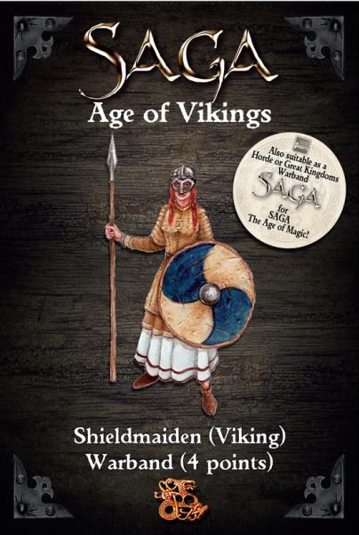 SAGA: (Age of Vikings) Shieldmaiden Warband (4 Points)