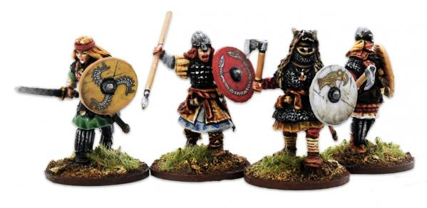 SAGA: (Age of Vikings) Shieldmaiden Hearthguard (4)