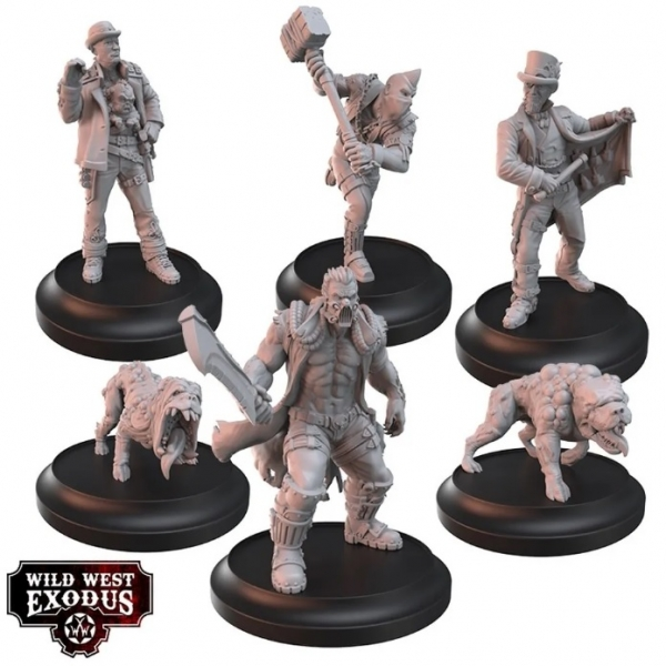 Wild West Exodus: Tainted Biology Posse Box Set