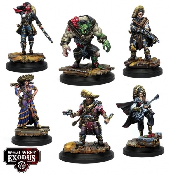 Wild West Exodus: The Bloody Espinosas Posse Box Set