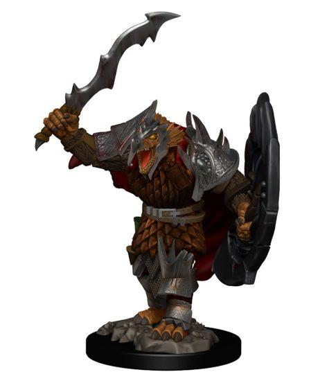 Dungeons & Dragons: Premium Pre-painted Miniatures - Dragonborn Male Fighter (1)