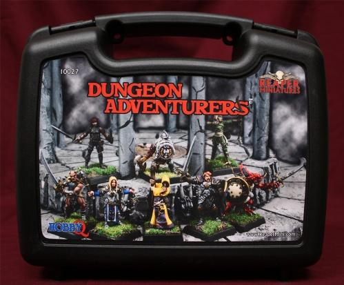 Miniatures Boxed Sets: Dungeon Adventurers (8)