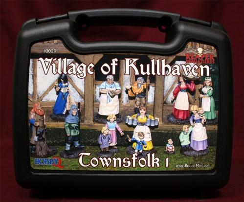 Miniatures Boxed Sets: The Village of Kullhaven - Townsfolk I (13)
