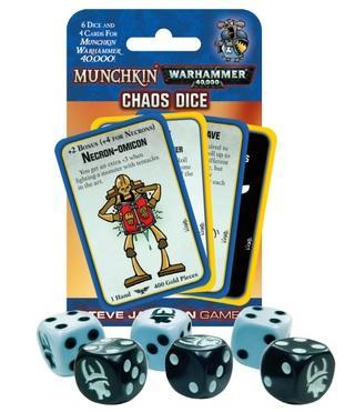 Munchkin: Warhammer 40,000 Chaos Dice