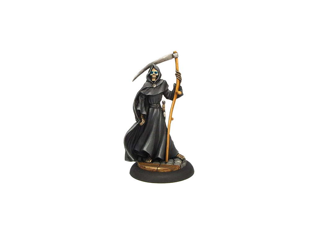 28mm Discworld Miniatures: Discworld - Death with Death of Rats