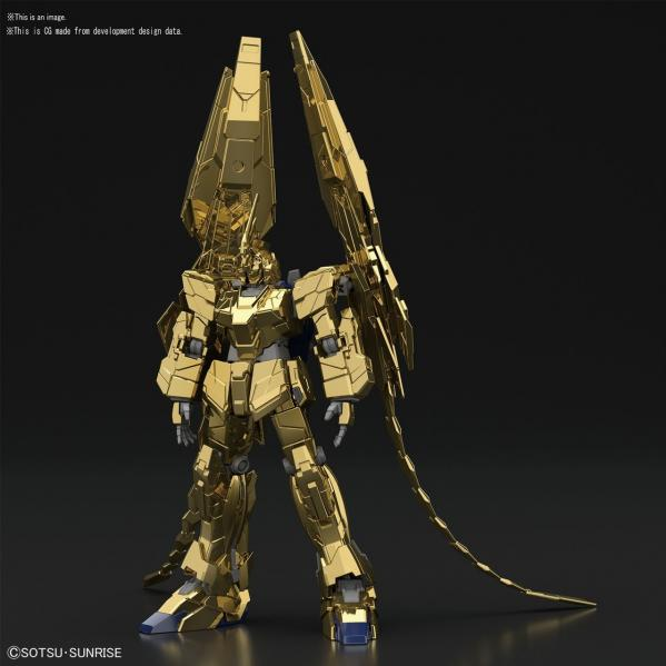 Bandai Hobby: #227 Unicorn Gundam 03 Phenex Unicorn Mode (NT Ver.) [Gold Coating] ''Gundam NT'' Band