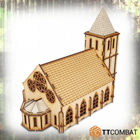 Miniature Terrain: World War Scenics - Chapel (25mm)