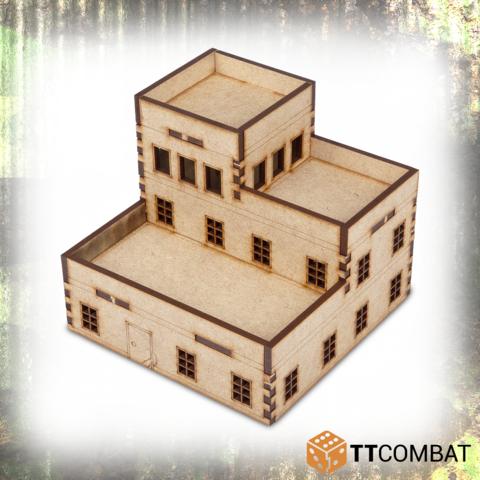 Miniature Terrain: World War Scenics - Radar Control Tower (15mm)