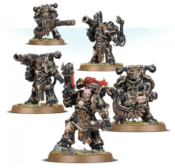 WH40K: Chaos Space Marines - Havocs