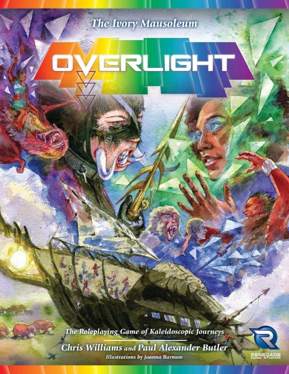 Overlight RPG: (Adventure) The Ivory Mausoleum