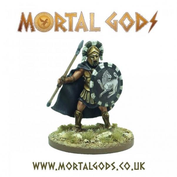 Mortal Gods: Heavy Lochagos 1 (metal) (1)