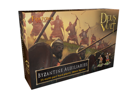 28mm Deus Vult: Byzantine Auxiliaries (Box of 25)