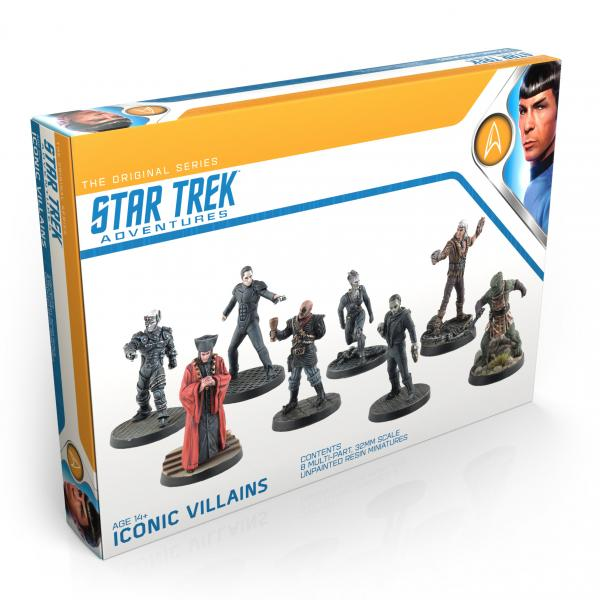 Star Trek Adventures RPG: Iconic Villains 32MM Minis Box Set