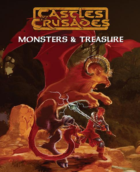 Castles & Crusades: Monsters & Treasures Complete (HC)