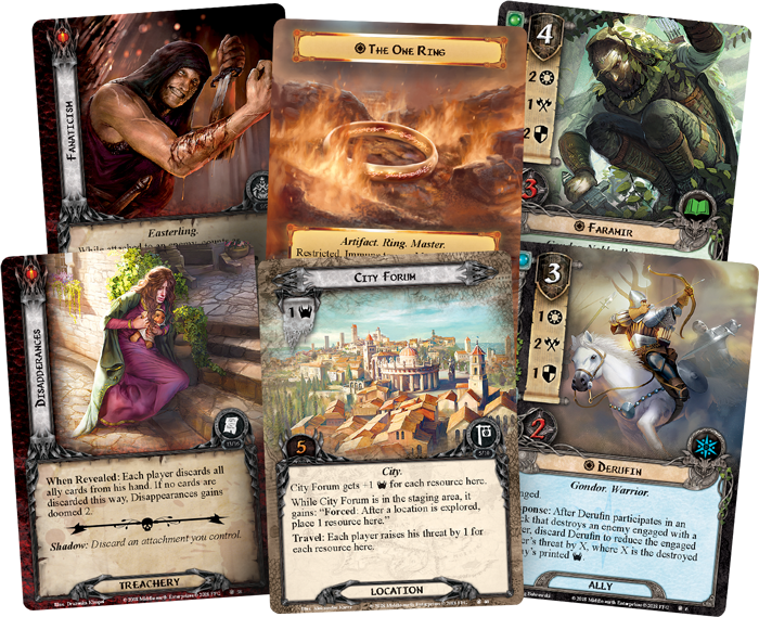 Lord of the Rings LCG: A Shadow in the East Deluxe Expansion
