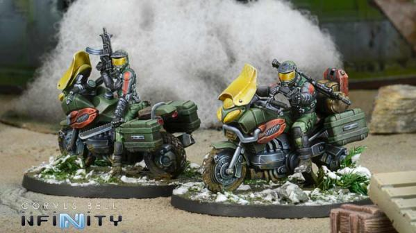 Infinity (#776) Dynamo Reg. of Kazak Light Cavalry
