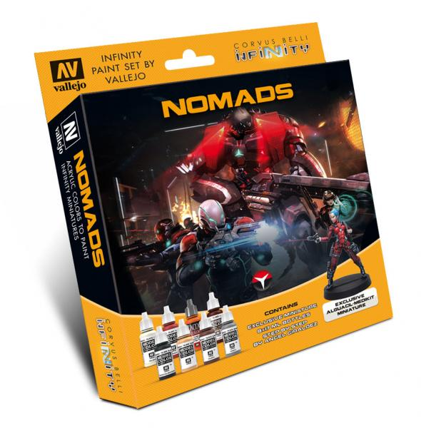 Infinity Paint Set: Nomads (w/Exclusive Miniature)