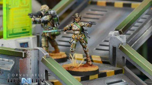 Infinity (#777) Namurr Active Response Unit (Heavy Pistol, E/M CCW)