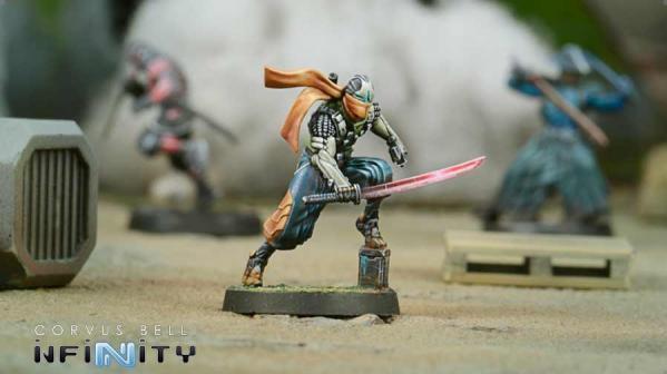 Infinity (#778) Saito Tōgan, Mercenary Ninja (Combi Rifle)
