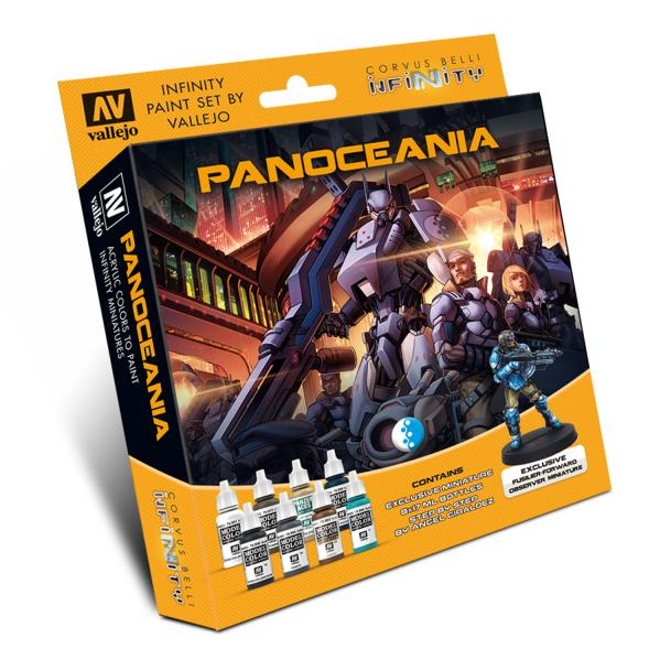 Infinity Paint Set: PanOceania (w/Exclusive Miniature)
