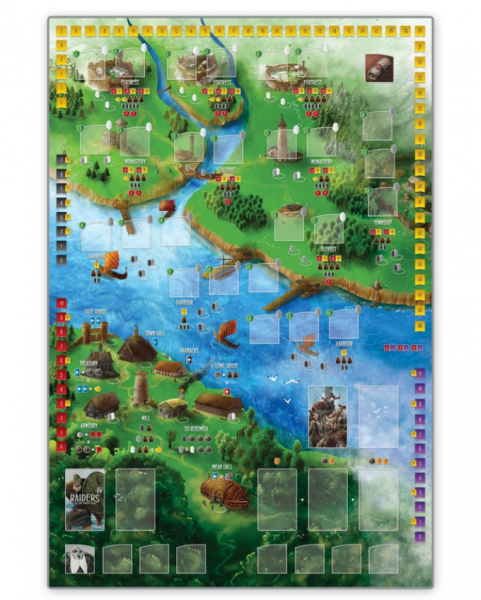 Raiders of the North Sea: Play Mat (Limited)