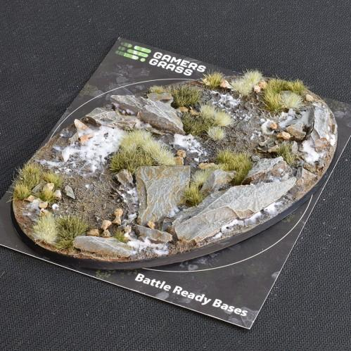 Battle Ready Bases: Winter Oval 170mm (x1)