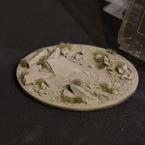 Battle Ready Bases: Arid Steppe Oval 120mm (x1)