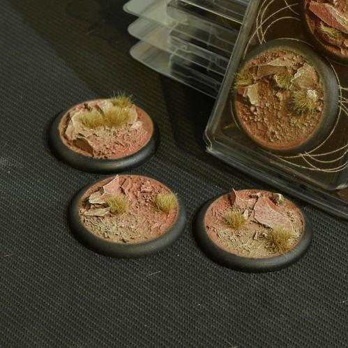 Battle Ready Bases: Badlands Round 50mm (x3)