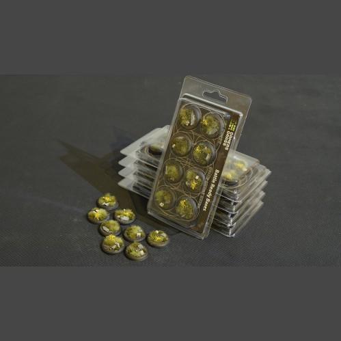 Battle Ready Bases: Highland Round Lip 30mm (x8)