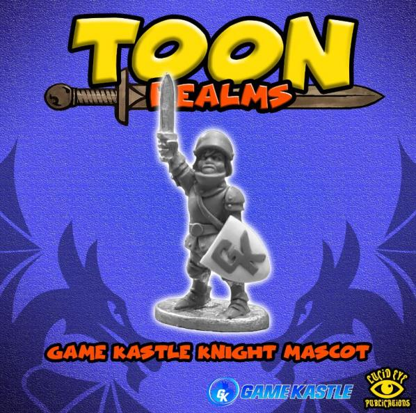Toon Realms: Game Kastle Knight Mascot