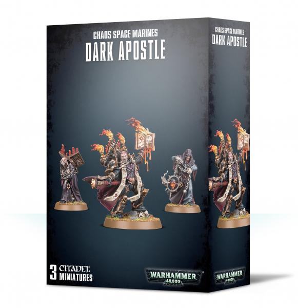 Warhammer 40K: Chaos Space Marines Dark Apostle