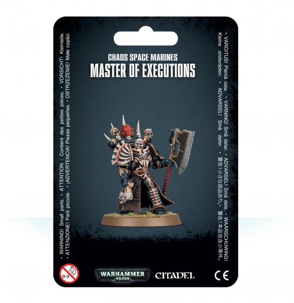 Warhammer 40K: Chaos Space Marines Master of Executions