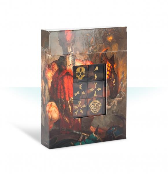 Age of Sigmar: Fyreslayers Dice Set