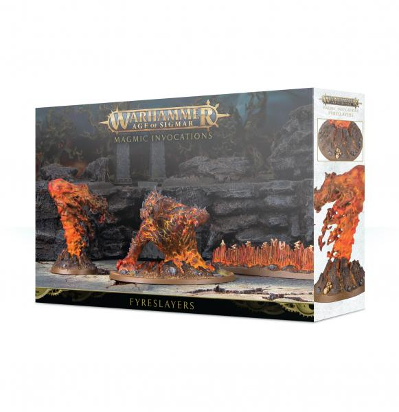 Age of Sigmar: Fyreslayers Magmic Invocations
