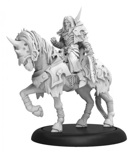 Hordes: (Infernals) Valin Hauke, The Fallen Knight – Infernal Cavalry Solo (metal/resin)