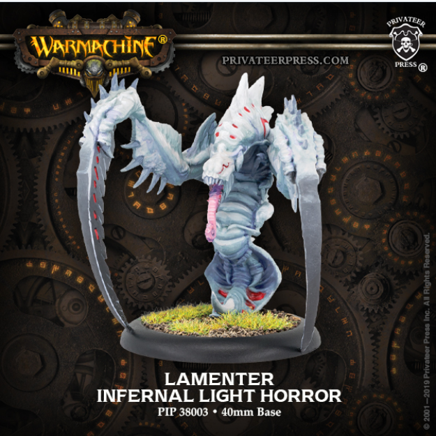 Hordes: (Infernals) Lamenter – Infernal Light Horror (metal/resin)