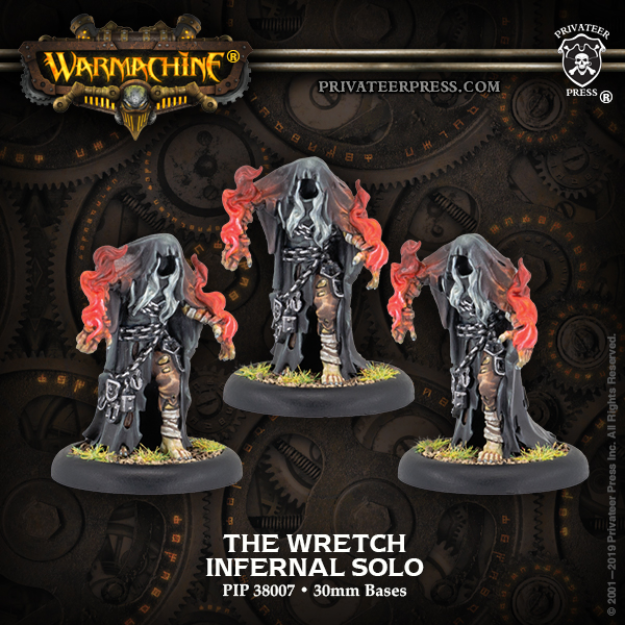Hordes: (Infernals) The Wretch – Infernal Solo (3) (metal)