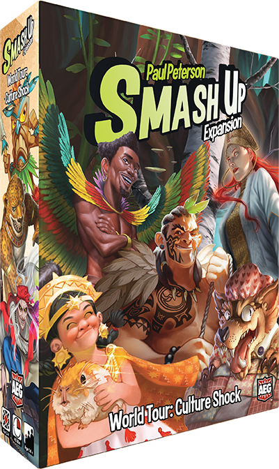 Smash Up: World Tour Culture Shock